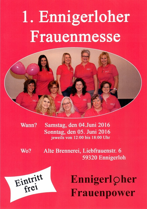 Flyer Frauenmesse